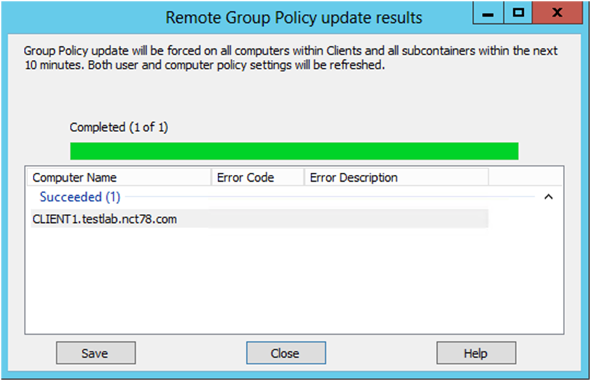 how to delete a group policy in server 2012