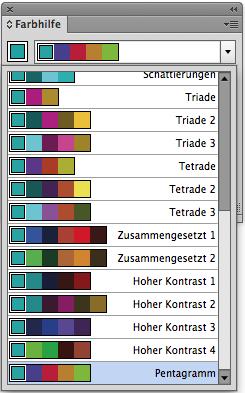 Passende Farben