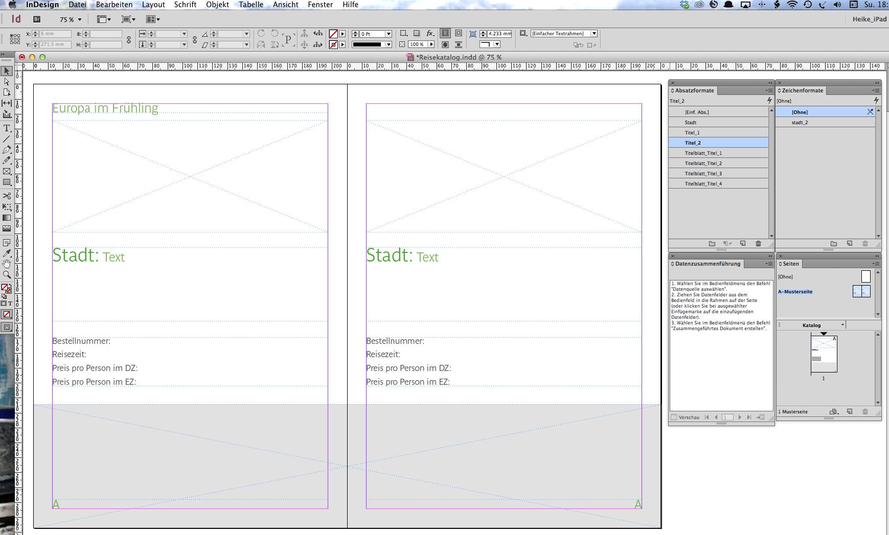 Katalogerstellung Mit Indesign Und Excel Digicomp Blog