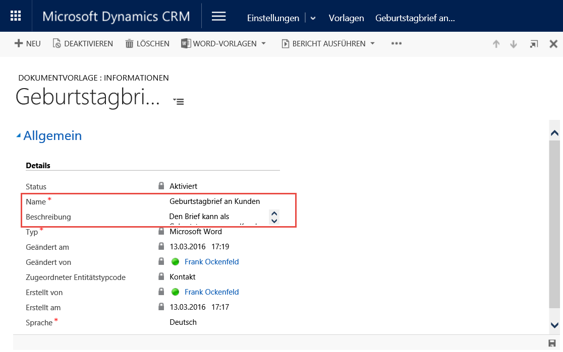 Die neuen Word-Vorlagen in Dynamics CRM 2016 - Digicomp Blog