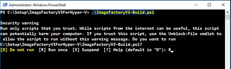 Automatisches Erstellen von Windows Basisimages