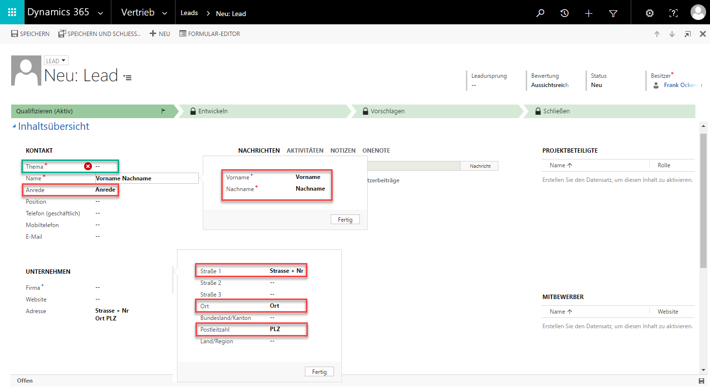 Adressen aus Excel-Dateien einfach in Microsoft Dynamics 365 importieren