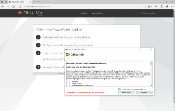 Website Office Mix